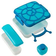Tomy boon BENTO Kinder Snack- Lunch Box Vesper-Brotdose mit Kühlung BPA-frei neu