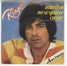 45 trs Espagne RINGO chante en espagnol Marilyn no se quiere casar Corbeau noir