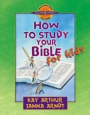 How to Study Your Bible for Kids (Discover 4 Yourself) Inductive Bible Studie..