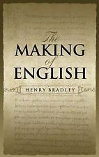 The Making of English (Dover Books on Language) Bradley, Henry Paperback