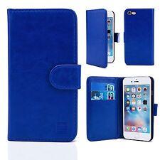 Flip Funda de piel para Apple iPhone 4 4s Protector de pantalla GRATIS Elegante