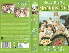 The Famous Five - Five Have A Wonderful Time - Parts 1 and 2 - Rare (VHS, 2003)