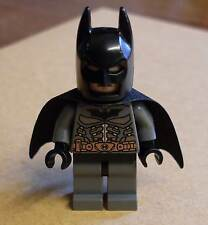 Lego Superhelden - Batman Figur grau mit Umhang ( Copper Belt ) Super Heroes Neu