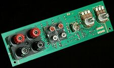 Subwoofer Low-pass Filter Front Plate + High Level Input (input output balance)