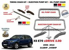 FOR BMW X5 XDRIVE 30D 2008-  TIMING CHAIN + INJECTION PUMP + OIL PUMP CHAIN KIT