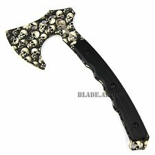 TACTICAL ZOMBIE SURVIVAL TOMAHAWK THROWING AXE BATTLE Hatchet knife hunting