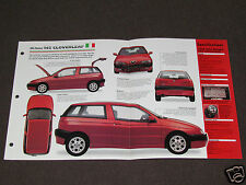 1996-1998 ALFA ROMEO 145 CLOVERLEAF Car SPEC SHEET BROCHURE PHOTO BOOKLET