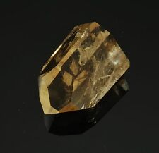 """CITRINE Yellow Polished Crystal Point 20.8 grams 1.21"""" w/ Healing Property Card"""