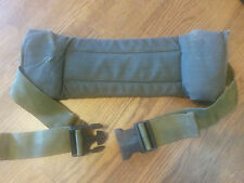 LOT OF SIX  US MILITARY OD GREEN ALICE WAIST KIDNEY BELT PAD LC-2