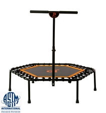 "JumpPower 44"" Hexagon Ultra Bungee Fitness Trampoline & T-bar ""Lose Weight Jump"""
