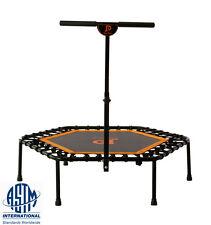 "JumpPower 44"" Hexagon Ultra Bungee Fitness Trampoline & T-bar ""Lose Weight Jump"""