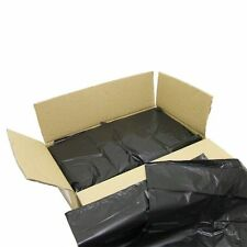 200 x 10kg duty Capacity Black REFUSE SACKS BAGS BIN LINERS BAG RUBBISH 120l***