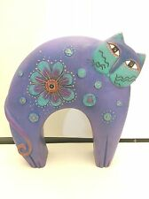 Laurel Burch cat flowering feline statue figurine resin Approximately 10""
