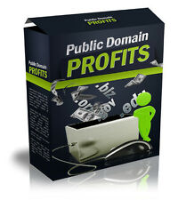 Public Domain Profits eBook & Videos on 1 CD