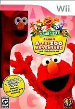 SESAME STREET ELMOS A TO ZOO ADVENTURE WII NEW! CHILDREN, ELMO LEARNING LESSONS
