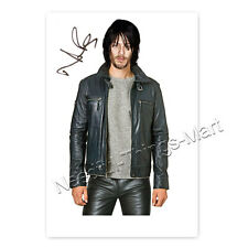 Norman Reedus alias Daryl aus The Walking Dead - Autogrammfotokarte (A 14)