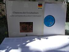 Chansons de Troubadours XIIth century   St. d. frühen Musik Binkley / Telefunken