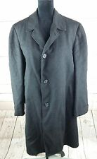 Vintage Rock-Knit Coat Methven Collection Wool Overcoat L USA Union Made 80