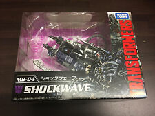 TRANSFORMERS MOVIE annivesary MB-04 Shockwave NUOVO