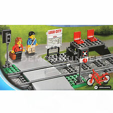 LEGO High-speed Train Station (Split) New from 60051 High-Speed Passenger Train