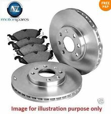 FOR BMW X6 xDRIVE40D 3.0TD 2009-  REAR BRAKE DISCS  SET + DISC PADS KIT