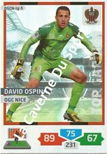 OGCN-TG5 OSPINA # TOP GARDIEN COLOMBIA OGC.NICE CARD ADRENALYN FOOT 2014 PANINI