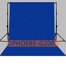 Photography Chromakey Backdrop 1.8m x 2.8m Blue 100% Cotton Muslin background