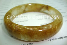 FENG SHUI - 62MM GOLDEN RUTILATED QUARTZ BANGLE