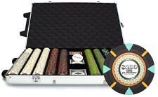 New 1000 The Mint 13.5g Clay Poker Chips Set with Rolling Case - Pick Chips!
