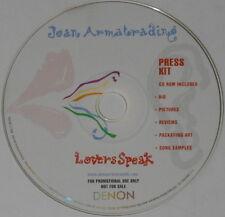 Joan Armatrading  Lovers Speak press kit U.S. promo cd rom