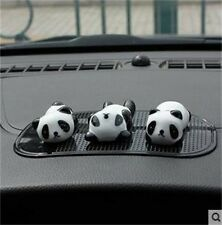 New Fashion Decoration Sets Cute 3 Pieces Mini Panda Car Interior Accessories