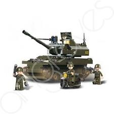 Leopard K9 Army Tank Assault Army Building Bricks Boys Set Attack Combat Tanker