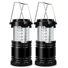 2er 30 LED Tragbare Camping Lampe Laterne Haltbar Beleuchtung Nachtlich AKKU