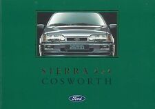 1990 Ford Sierra Cosworth folleto brochure Catalogue francés