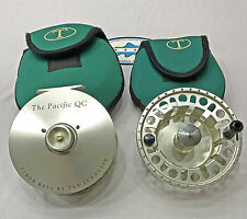 Tibor Pacific QC Fly Fishing Reel + Spare Spool - Good/Very Good Condition