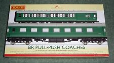 Hornby OO Gauge R4534A BR Pull-Push Coaches set