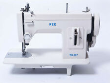 Rex RX607 Straight Stitch Portable Walking Foot Sewing Machine