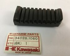 Gomma pedana post. - Step Rear Rubber - Kawasaki ZX750 ZX1100 NOS:  34028-1060