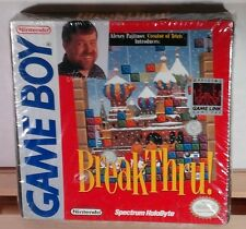 BreakThru! (Nintendo Game Boy 1989) GB Brand New & Sealed  *FREE US SHIPPING*