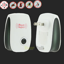 Electronic Ultrasonic Anti Pest Bug Mosquito Cockroach Mouse Killer Repeller #01