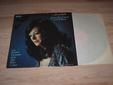 Vintage Anna Moffo Great Love Duets From Opera Signed Album/LP/Free Shipping!