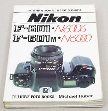 NIKON F-601 User's Guide - Hove Books - 174 pages 12x19cm