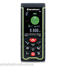 50M Mini Digital Handheld Laser Distance Meter Range Finder Measure Diastimeter