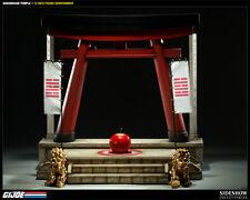 "Arashikage Temple Tempel Ninja Cobra GI Joe 12"" Figur Diorama Sideshow"