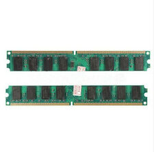 Hot 4G 4GB(2X2GB) DDR2 667MHZ PC2 5300 5300U Dimm Memory Ram PC Desktop 240 Pin
