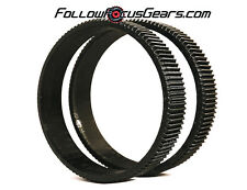 Seamless Follow Focus/Zoom Gear Ring Set for Canon EF 28-135mm f3.5-5.6 IS Lens