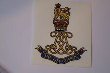 "2 X  THE LIFE GUARDS REGIMENT  STICKERS  4"" BRITISH ARMY USA  MILITARY INSIGNIA"