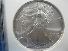 2006 W BURNISHED  SILVER EAGLE NGC MINT STATE 69