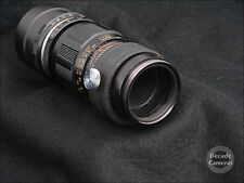 3444 - Reduced! M42 Hanimex 200mm f4.5 15 Blade Diaphragm Telephoto Lens