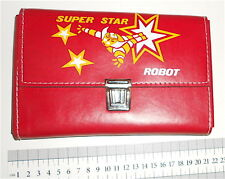 GOLDRAKE UFO ATLAS ROBOT fake Super Star Robot 70s Italy wallet - astuccio scuol